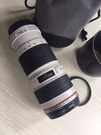 Canon EF Zoom Lens 70-200mm f/4 L USM Perfect Condition