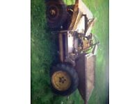 Dumper 2 wheel drive winget benford for restoration great project with petter diesel engine