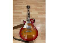 Left Handed 'Vintage' Brand Electric Guitar