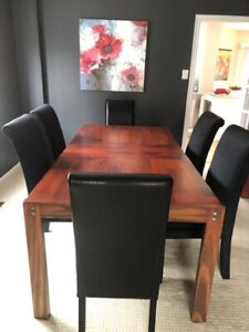 Complete Dining Set - Table, Chairs & Sideboard + Free Delivery