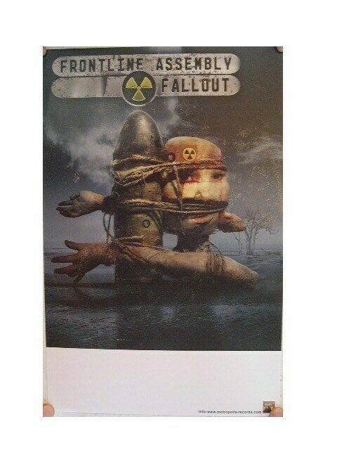 Frontline Assembly Poster Fallout Front Line The Skinny Puppy