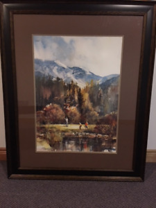 I Have a Golf Print for Sale for $100 Brent Heighton