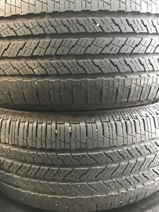 2 pneus Continental Touring Contact AS 235/55R17