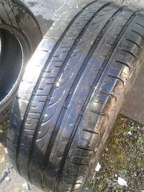 MOT Due...Pair of Tyres CHEAP !