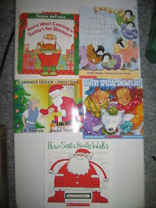 Kid's Scholastic Books:  5 Winter / Christmas Themed Titles (A)