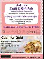 Gift Show and Gold Buying