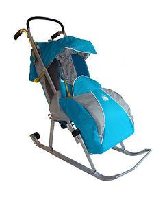 Winter stroller, Snow stroller, Sled stroller