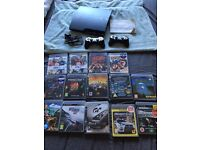 PS3 Sony playstation 3 and Games Bundle