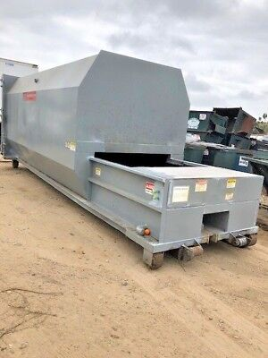 Trash Garbage Recycling 35yd Ptr Self Contained Low Pro-file Compactor