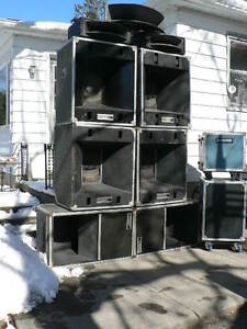 JBL 4560 Speaker Cabs & Horns - Great for Live or Recorded Music Kitchener / Waterloo Kitchener Area image 1