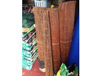 3 Premium willow fencing screening rolls, 5 m x 1.2 m, £25