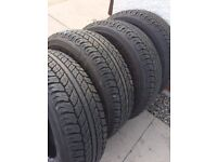 Tyres - 4 Dunlop A120 Grandtrek 245/65R17 Have fitted BF Goodrich to my Mitsubishi