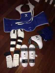 Martial Arts Nearly-New Sparring Equipment Set with Add-Ons!