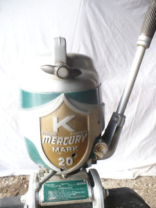 Compleately restored vintage outboard motor
