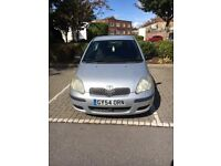 Toyota Yaris, silver 3 door, very good condition for year good MOT