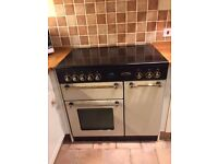 Rangemaster 90 oven in beige with convection hob