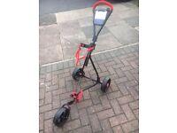 Longridge Junior golf trolley - used for 4 rounds - VVGC