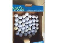 38 Golf Balls (Topflite, Srixon, Dunlop and Donnay). Collect Fulham