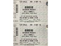 2 x Billy Connolly High Horse Tour Tickets - Brighton - 22nd November - FRONT STALLS