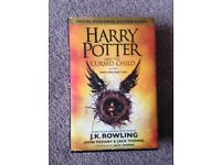HARRY POTTER AND THE CURSED CHILD HARDBACK BY J.K. ROWLING
