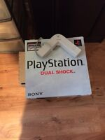 Original Sony Playstation with Multi Tap, 3 controllers