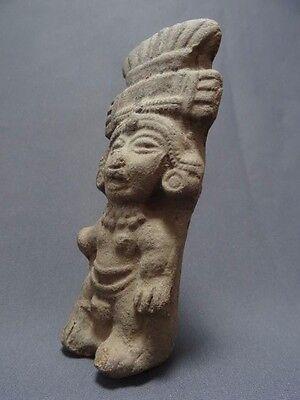 Pre Columbian Pottery Vessel Funerary Pot Mayan Aztec Inca