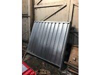Solid Metal Herris fencing Panels