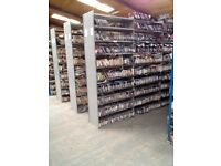 Easy Fit Boltless Shelving - Buy one bay or as many as you like.