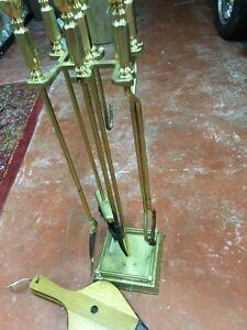 Beautiful Brass Fireplace set