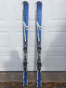 Barely Used Downhill Ski Equipment