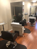 Oasis Hair and Day Spa chair rental