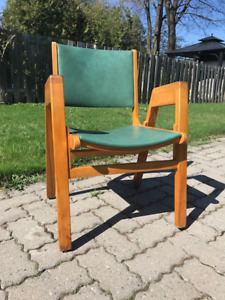 VINTAGE MID-CENTURY MODERN DESIGNER OFFICE / LOUNGE CHAIR