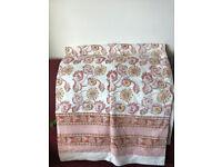 Summery cotton bedspread