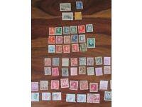 stamps: finland, norway and belgium