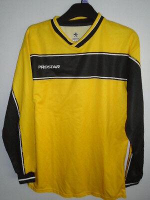 Prostar Yellow Football shirt Small Long sleeves