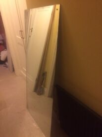 Large mirror, used condition just removed from bathroom