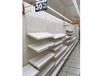 Shop shelves - shelving - stand - cash registers - counters
