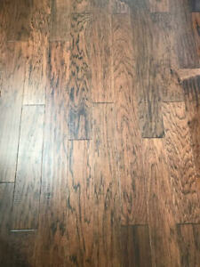 Engineered hickory hardwood, Over 75 square feet