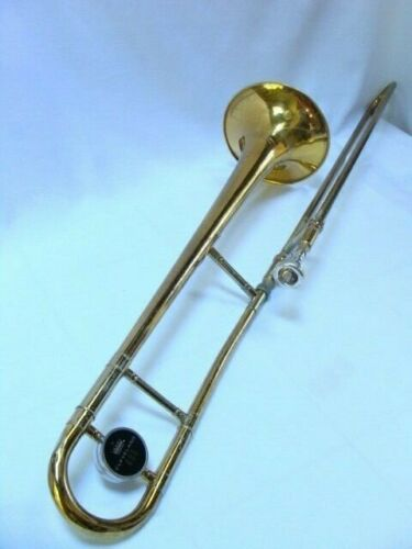Vintage King Cleveland Trombone Refurbished 605 Student 🎵 Marching  w Case + MP