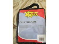 MOTORCYCLE MORAX OVER TROUSERS WATERPROOF NEW
