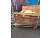 Large quantity of Wood. Various sizes & lengths.