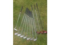 Full set of Golf Clubs - perfect for beginners
