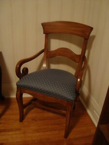 Arm Chair and Matching Chair