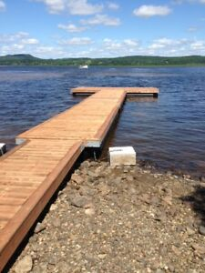 Floating Docks, Dock supplies