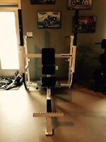 Commercial Seated Shoulder Press Bench