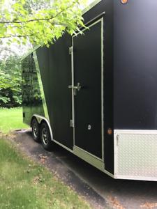 Remorque fermée Idéal Cargo 2017, 8,5 x 16, trailer V-nose