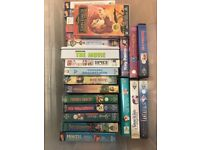 Childrens's VHS Video's - mostly Disney - FREE
