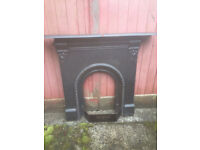 """34"""" Cast Iron Fireplace in good condition - Call now on 07962 079143"""