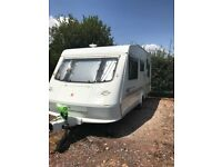 ELDDIS FIRESTORM 500/5 Year 2000 5 Berth touring caravan