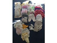 Enormous bundle of baby girl clothes from Newborn - 12 months. Entire wardrobe!